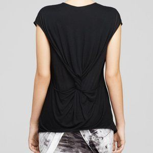 HELMUT LANG • White Double Layer T-shirt Top • L